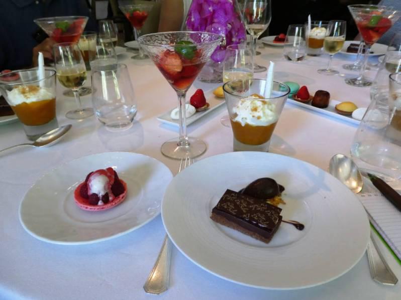 Four desserts