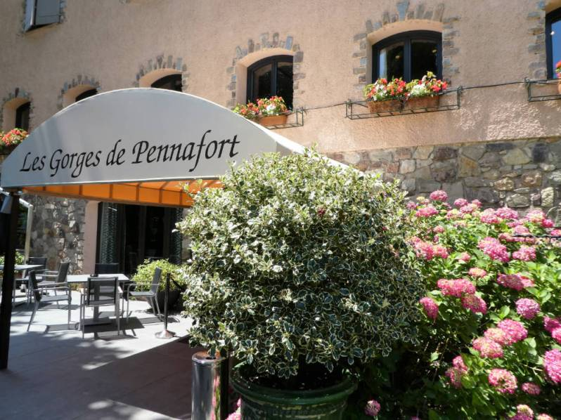 The restaurant - Les Gorges de Pennafort